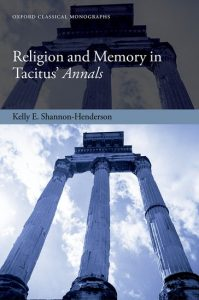 Religion and Memory in Tacitus' Annals cover