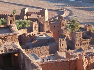 an ancient city in Morocco