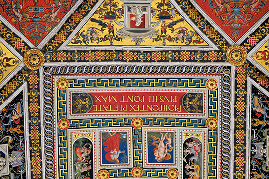 richly colorful medieval art