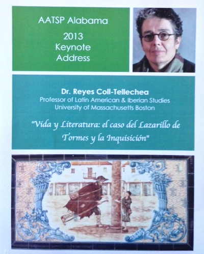2013 Keynote Address Desayuno Literario Saturday, April 13 7:30 am