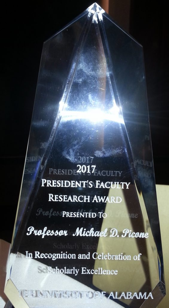 President's Faculty Research Award