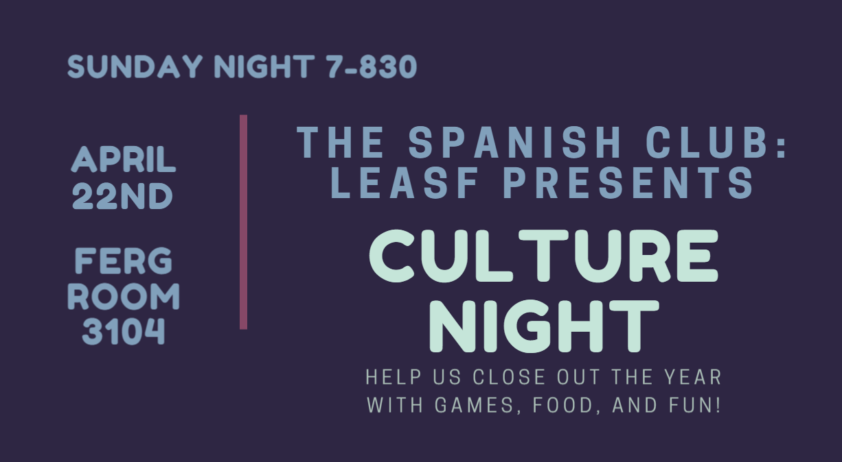 Culture Night flyer