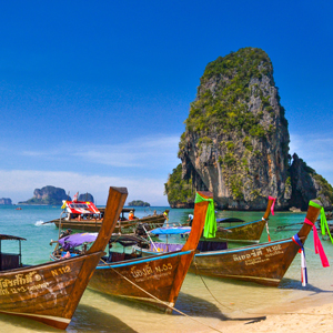 boats in Thailand