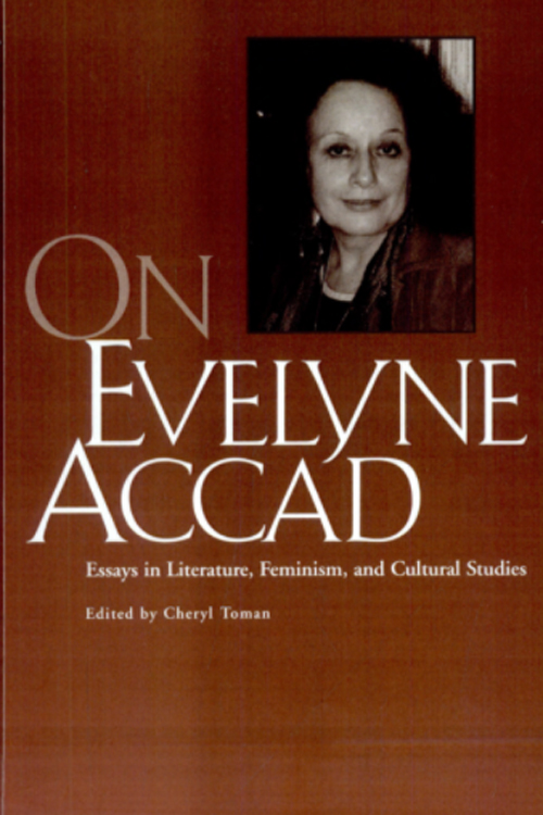 On Evelyne Accad cover art