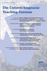 Teaching German